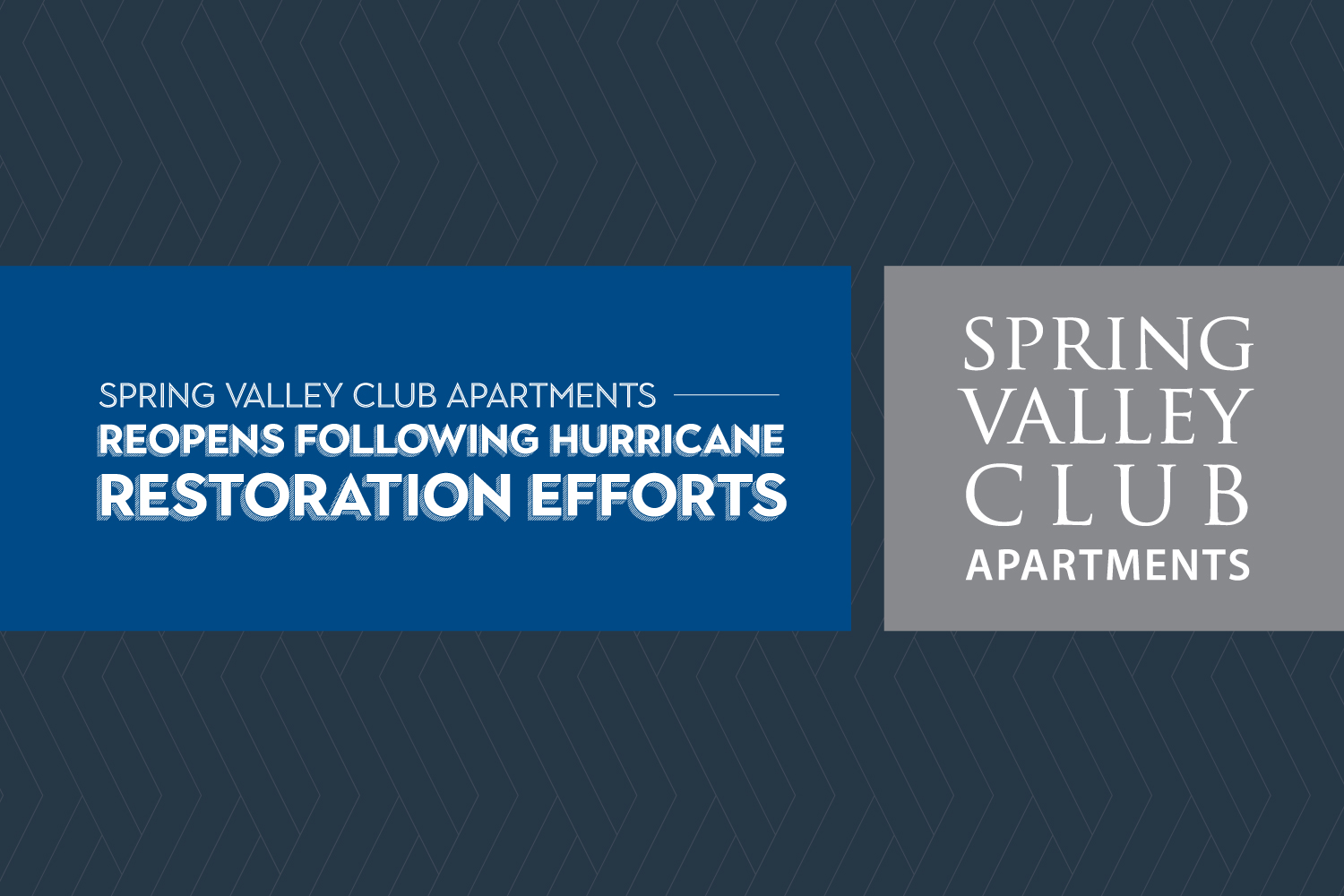Spring Valley Club Apartments reopens following hurricane restoration efforts
