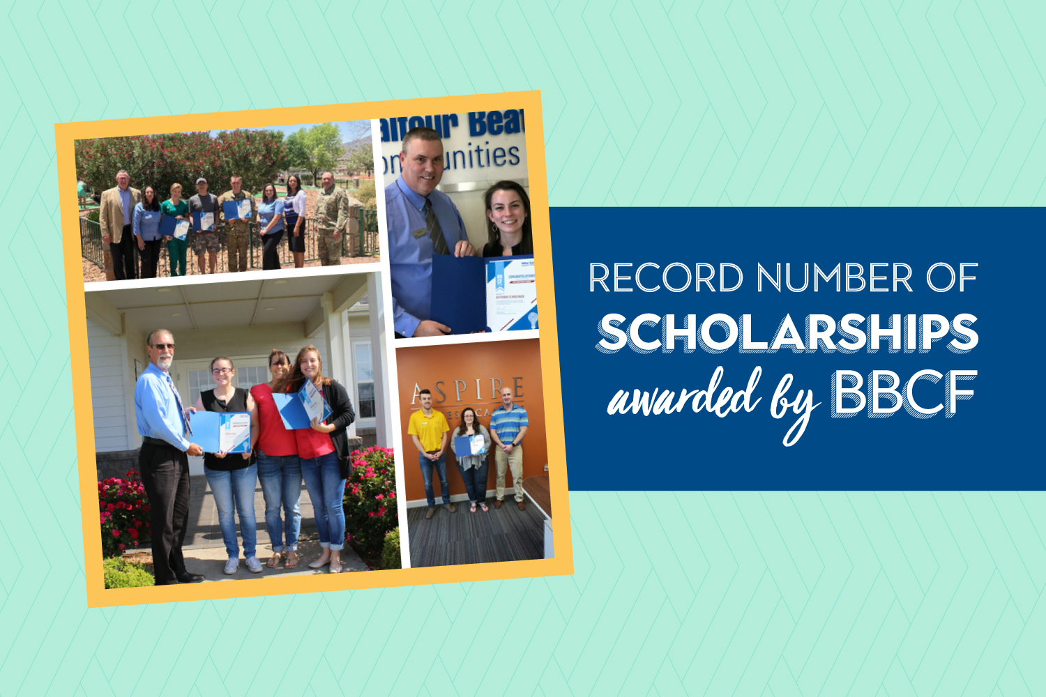 Record number of scholarships awarded by Balfour Beatty Communities Foundation