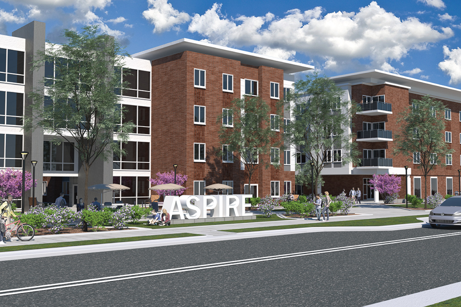 Aspire apartments incorporate 21st century digital lifestyle on Purdue campus