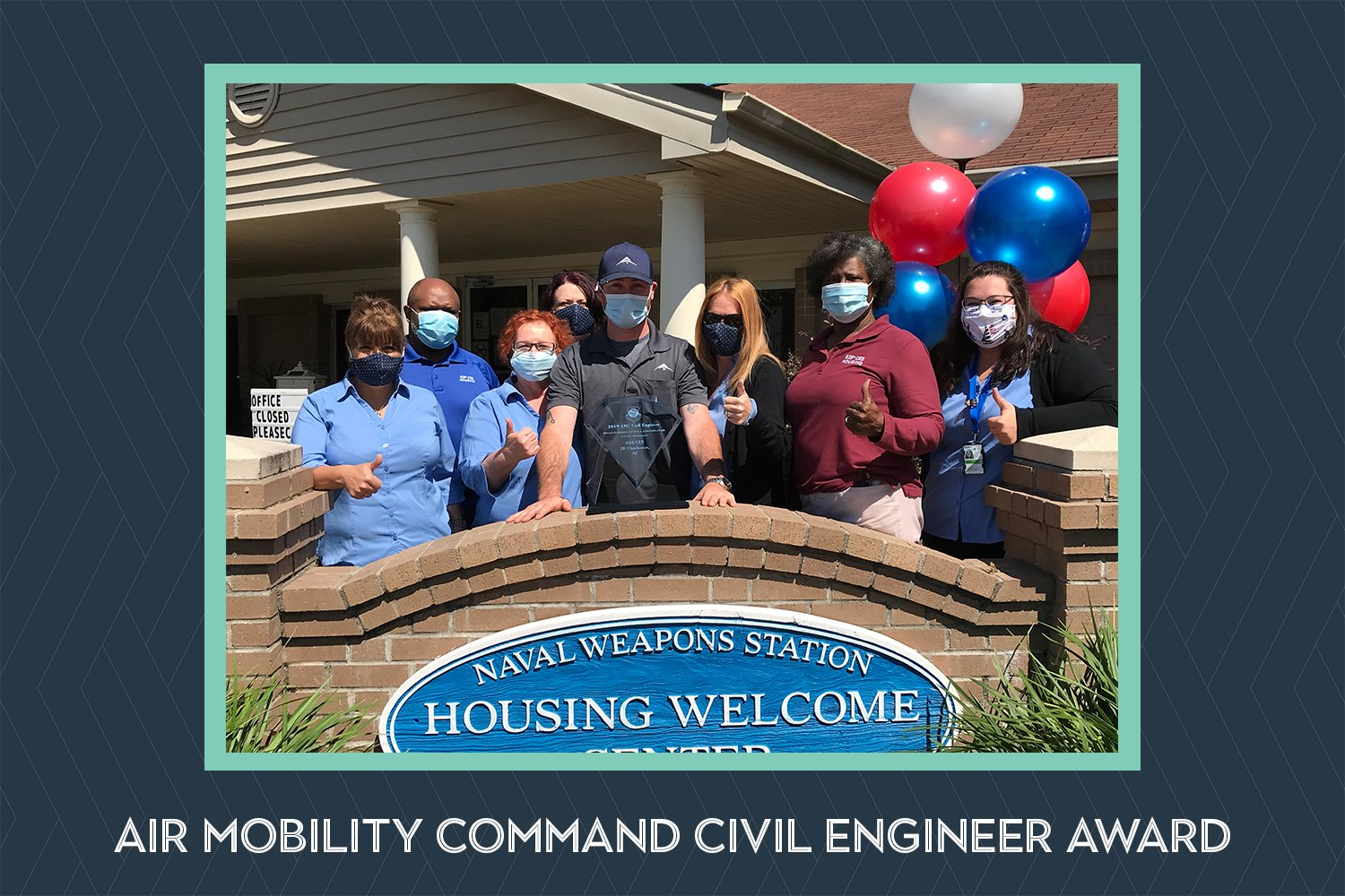BBC, housing partners, recognized with 2019 Air Mobility Command Civil Engineer award
