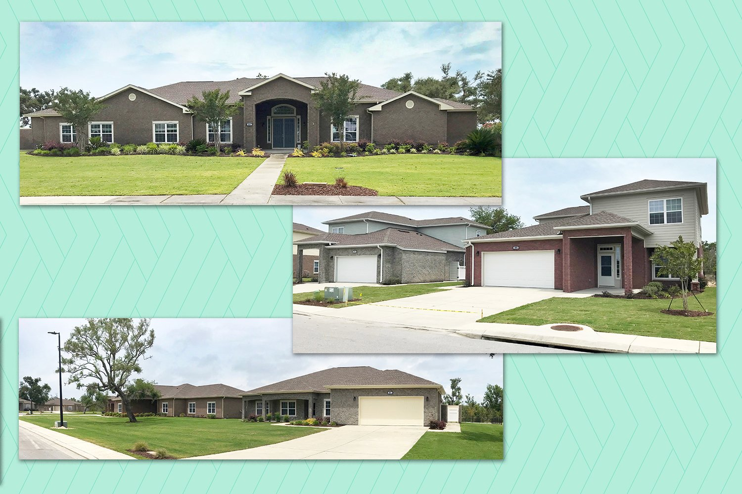 First neighborhood back online at Tyndall AFB Homes