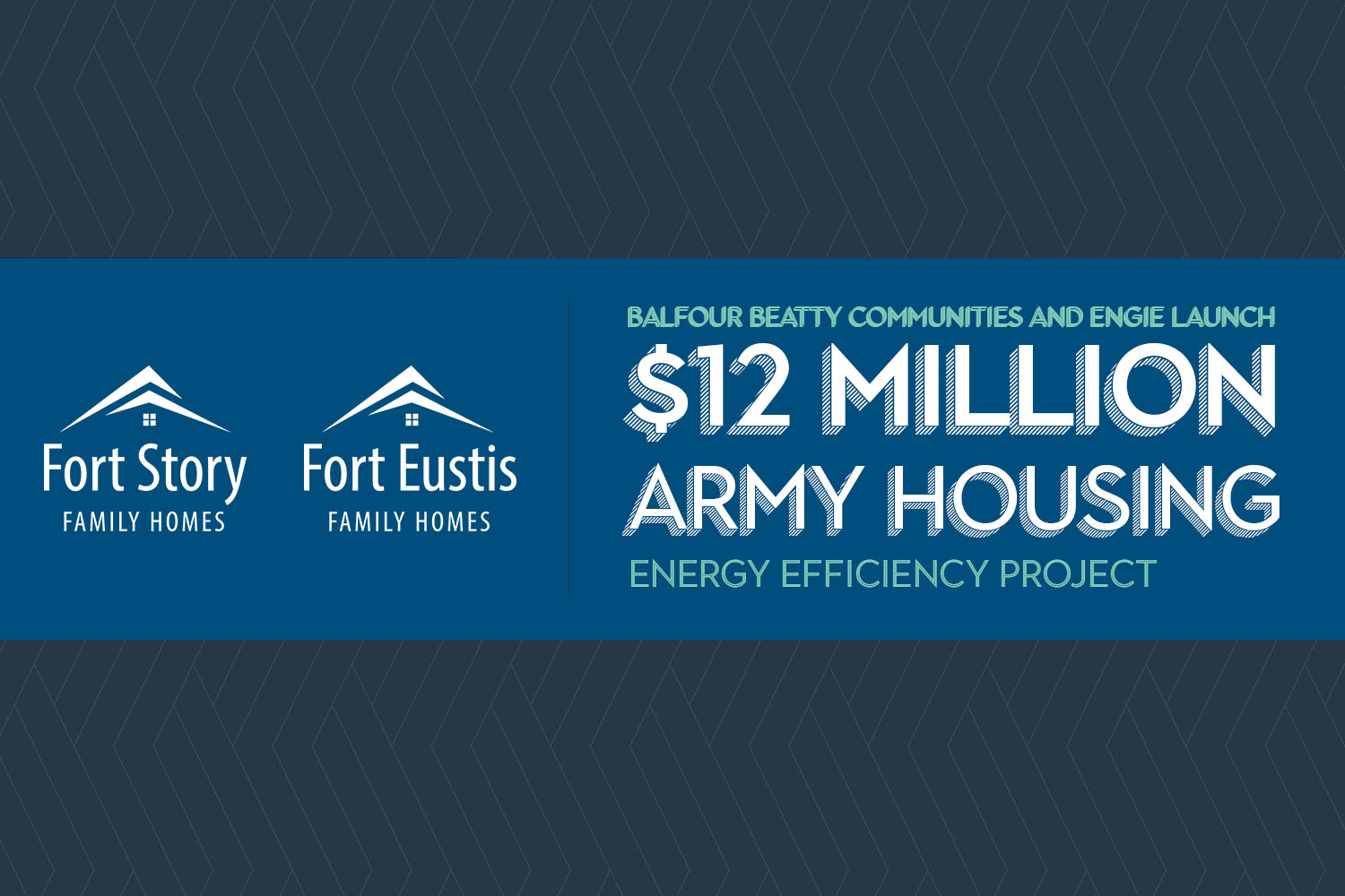 Balfour Beatty Communities and ENGIE Launch  $12 Million Army Housing Energy Efficiency Project